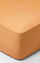 Schlossberg-Spannbettlaken-Jersey-Uni-tangerine