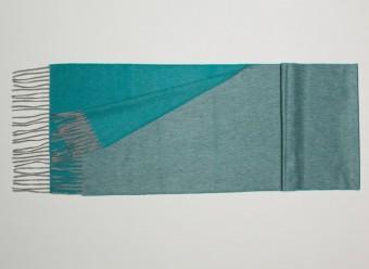 Begg Kashmir Plaid Arran Reversible Flannel Teal