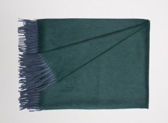 Begg Kashmir Plaid Arran Uni Drake Green