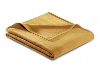 Biederlack Plaid Uno Cotton antique