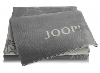 Joop!-Plaid-Cornflower-Double-ash-graphit