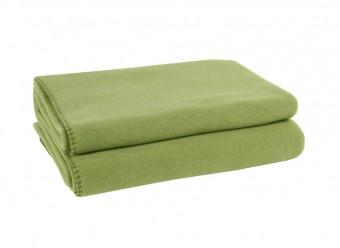 Zoeppritz-Kuscheldecke-Soft-Fleece-grün