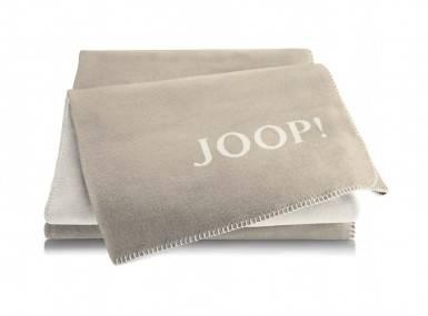 Vorschaubild joop plaid uni doubleface sand pergament