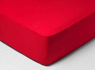 Vorschaubild schlossberg spannbettlaken satin scarlet