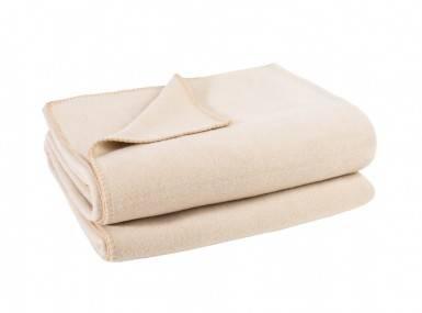 Vorschaubild zoeppritz soft fleece tagesdecke creme beige