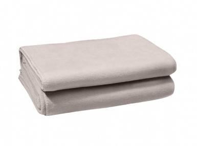 Vorschaubild zoeppritz soft fleece tagesdecke lehm beige