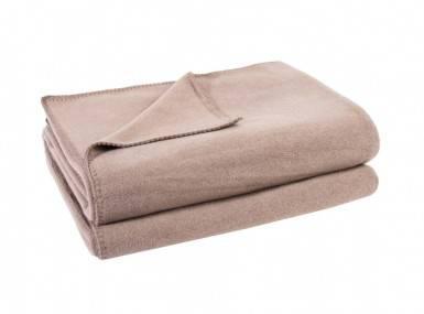 Vorschaubild zoeppritz soft fleece tagesdecke sand beige